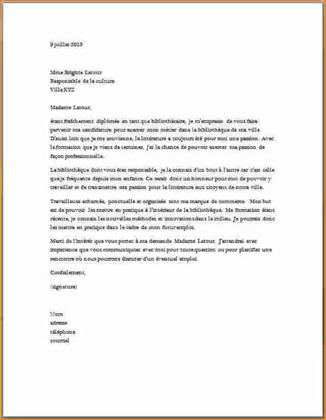 10 lettre de motivation candidature spontan 233 e secr 233 taire exemple lettres