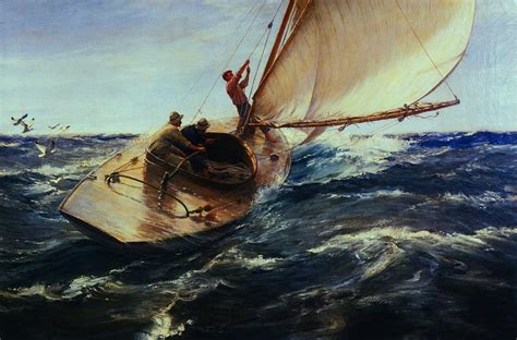 Boat Paintings By Famous Artists by Nuts And Reasons Life