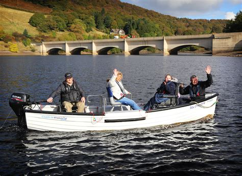 People On A Boat by First Wheelchair Accessible Fishing Boat Launched At