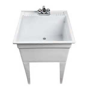 17 mustee utility sink with legs and faucet shop