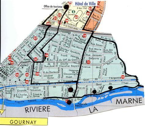 carte de chelles itin 233 raire atteindre le bord de marne de l association riverains