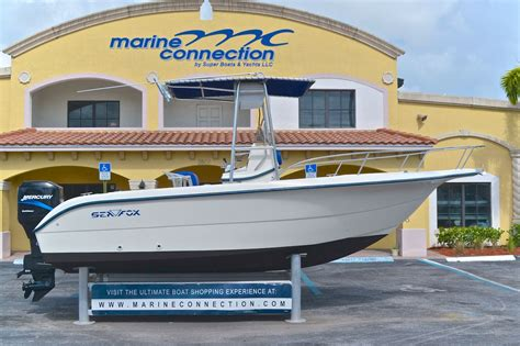 Boat Storage West Palm Beach by Used 2001 Sea Fox 210 Center Console Boat For Sale In West