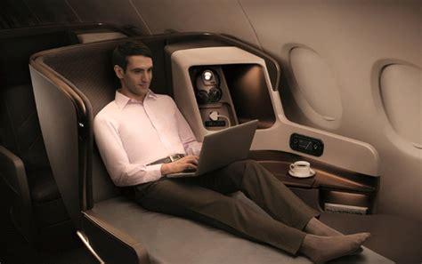 a look inside singapore airline s new a350 business class firstclass