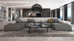ce grand canap 233 d angle en u conf 233 rera 224 votre salon moderne un look irr 233 sistible gr 226 ce 224 ses