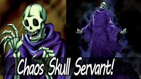 yugioh chaos skull servant deck profile july 2013