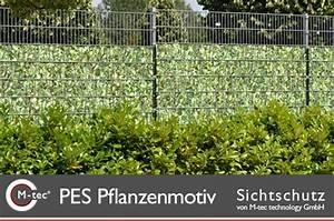 Sichtschutz Zum Einflechten : streifen zum einflechten zaunblenden mit pflanzen motiven ~ Markanthonyermac.com Haus und Dekorationen