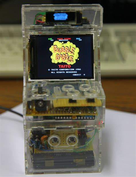 diy pocket sized raspberry pi micro arcade machine