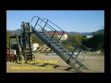 escalier m 233 tallique droit avec crosse 2012 10 tarif prix franco kit
