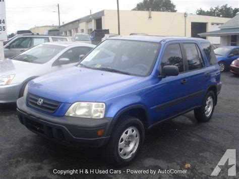 2001 Honda Cr-v Lx For Sale In Purcellville, Virginia