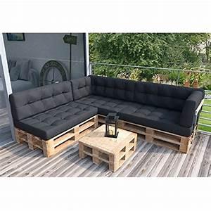 Bauanleitung Paletten Sofa : palettensofa couch inkl palettenkissen und polster komplettset ~ Markanthonyermac.com Haus und Dekorationen