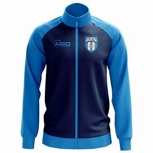 Argentina Concept Football Track Jacket (Navy ...