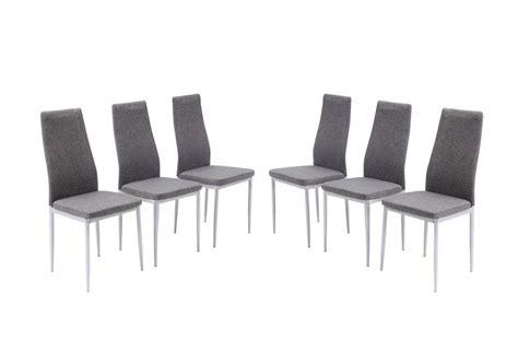 chaise grise salle a manger pas cher le monde de l 233 a