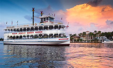 Mississippi Queen Riverboat Cruises by Jungle Queen Riverboat Up To 39 Off Fort Lauderdale