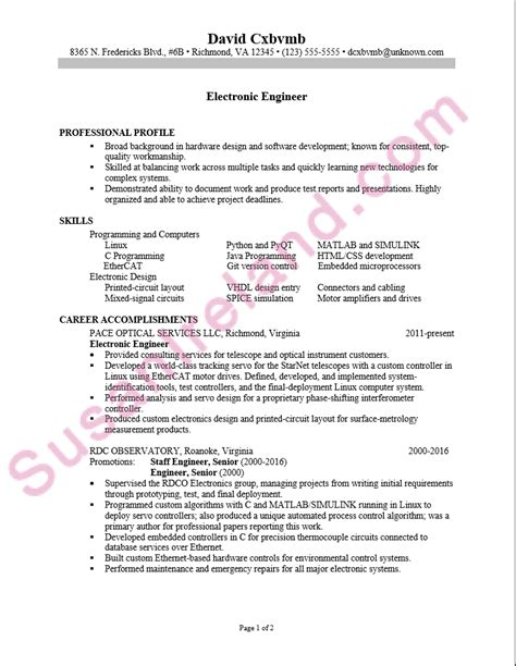 Resume Sample For An Electronics Engineer  Susan Ireland. Numbers In Resume. Nice Resume. Resume Builder Download. Cashier On Resume. Strong Words For Resume. What To Name Your Resume. Writing A Resume Summary. Truck Driving Resume Examples