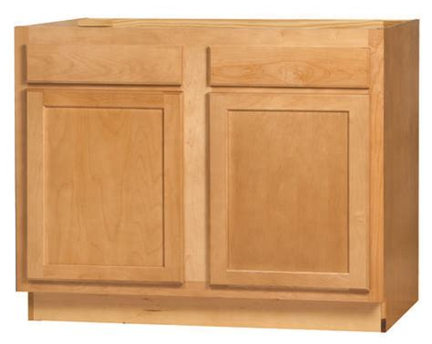 kitchen kompact mellowood 42rbs maple sink base cabinet at menards 174