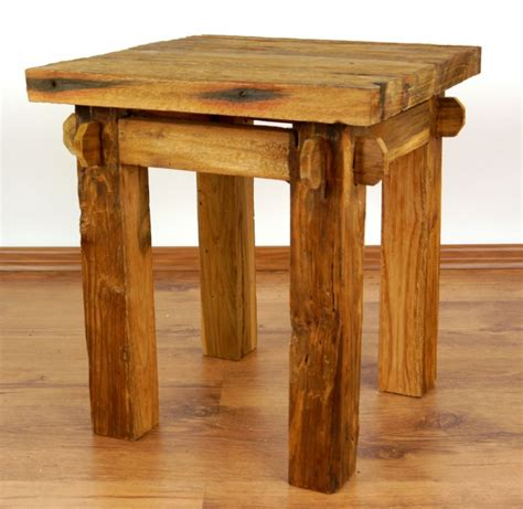 Java, Beistelltisch, Tisch Aus Recyceltem Teakholz, Nr43