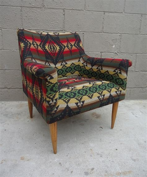 Nmci Help Desk C Pendleton by Fancy Upcycled Mid Century Lounge Chair In Pendleton
