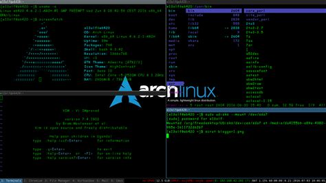 the gallery for gt arch linux openbox