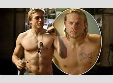 Charlie Hunnam is a far cry from his Sons of Anarchy