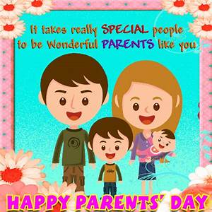 Wonderful Parents' Day Card! Free Parents' Day eCards ...