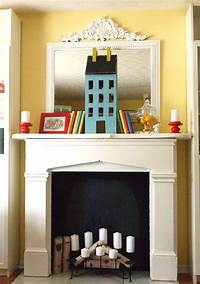 faux fireplace ideas Beautiful Ways To Style & Decorate A Faux Fireplace