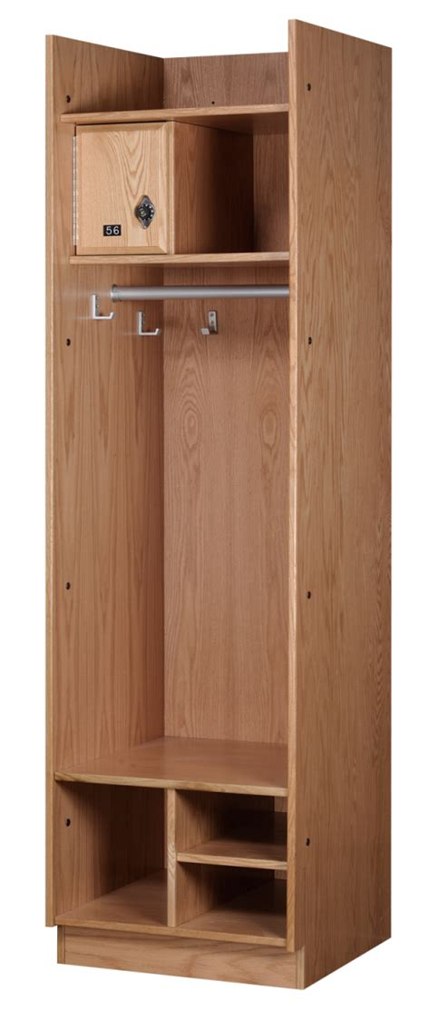 Wood Sports Lockers By All Wood Lockers