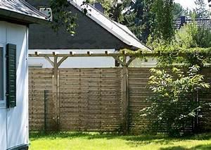 Trennwand Dachschräge Selber Bauen : trennwand garten selber bauen ~ Markanthonyermac.com Haus und Dekorationen