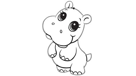 Learning Friends Hippo Tracing Page