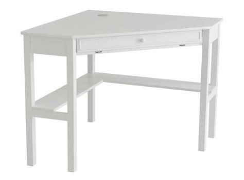wooden corner desk for an office