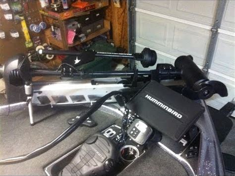 Install Drain Plug Fiberglass Boat by Tips N Tricks 115 Installing Bow 360 Imaging System