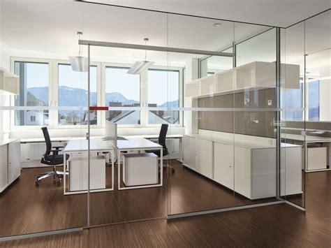 glass office partition rg glass wall by bene design johannes scherr