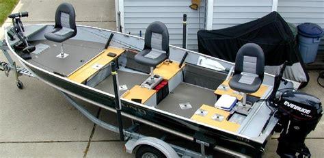 Quad Row Boat by Boat Conversion Lund Ssv 18 To Dream Walleye Boat