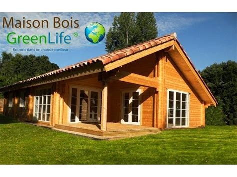 chalet bois habitable 3ch en kit greenlife 169 114m2 58mm 150 58mm qualit 233 prix exceptionnel