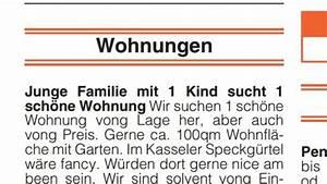 Wohnungssuche Im Internet : hna anzeige wird im internet zum hit kassel ~ Markanthonyermac.com Haus und Dekorationen