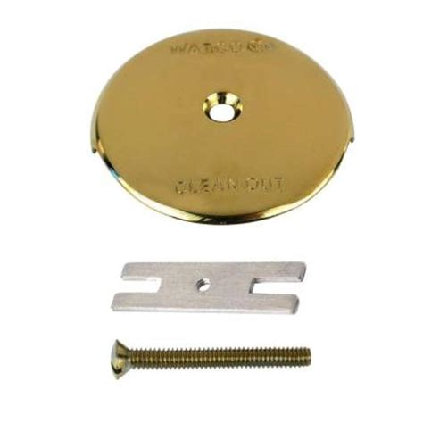 bathtub overflow plate adapter bar watco 1 bathtub overflow plate kit polished brass