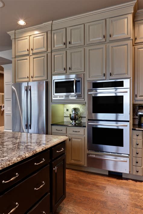 Custom Microwave Trim Kit Traditional Style For Kitchen
