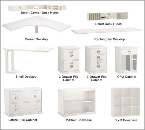 all the pieces to choose from bedford corner desk set