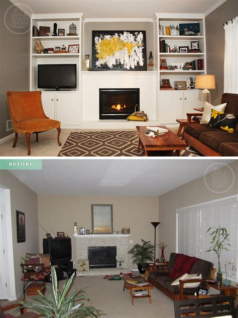living room makeovers before and after pictures tuesday tips living room makeover on a budget the gold
