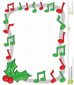 Cadre De Musique De Vacances Illustration de Vecteur ...