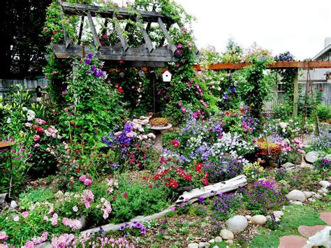 Beautiful Cottage Flower Garden Gardens To Love