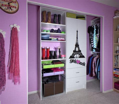 Bedroom Captivating Purple Themed Bedroom Closet