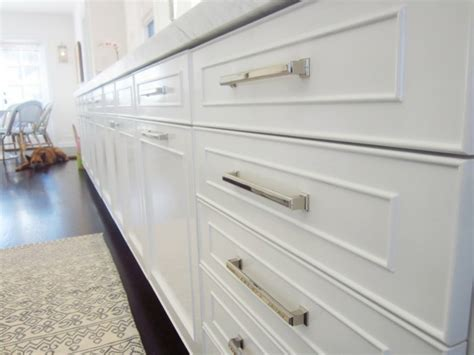 Handles For Kitchen Cabinets  Almost Invisible, But