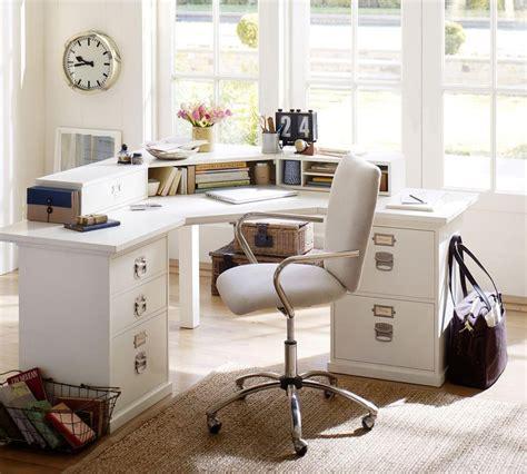 bedford corner desk set pottery barn au