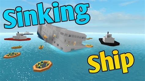 Sinking A Ship Game by Sinking Ship Roblox