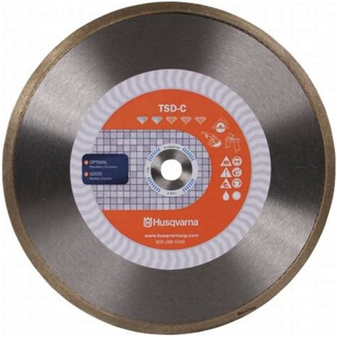 husqvarna ceramic tile saw blade 4 inch general purpose