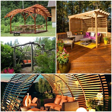 Pergola Für Einen Größeren Sommergenuss Im Garten 32