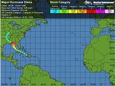 Major Hurricane Elena Weather Underground