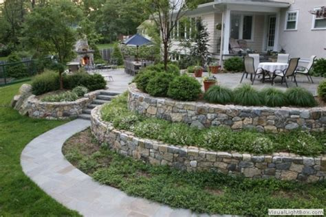 Slope Yard Ideas by 25 Awesome Sloped Backyard Design Ideas That Will Inspire