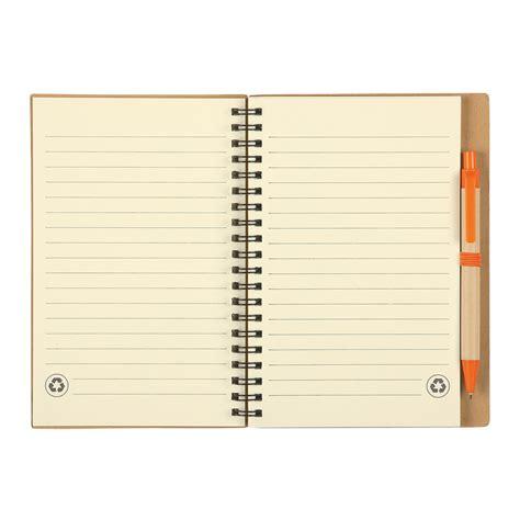 #6100 Ecoinspired Spiral Notebook & Pen