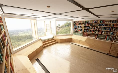 Home Library : Home Library Design